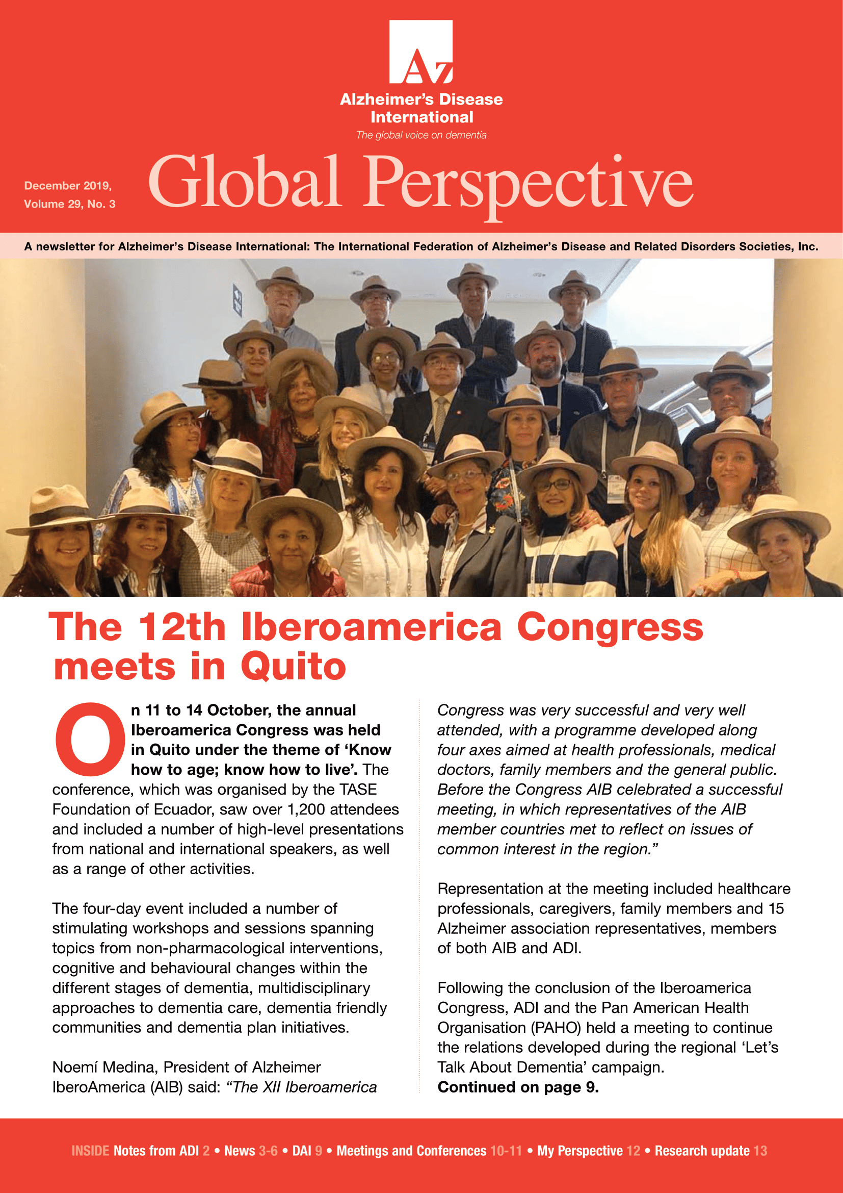 December Global Perspective 2019