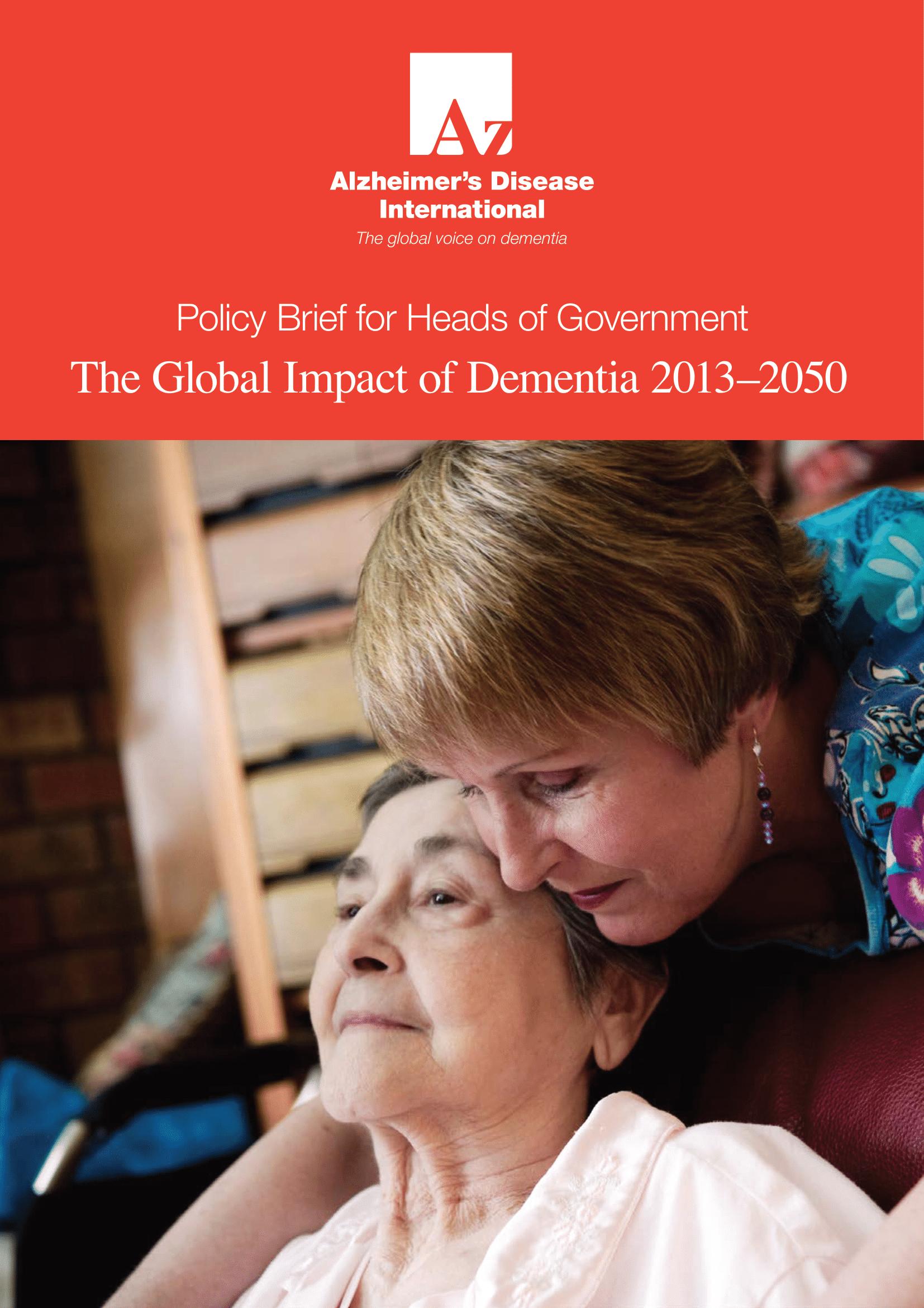 The Global Impact of Dementia 2013–2050