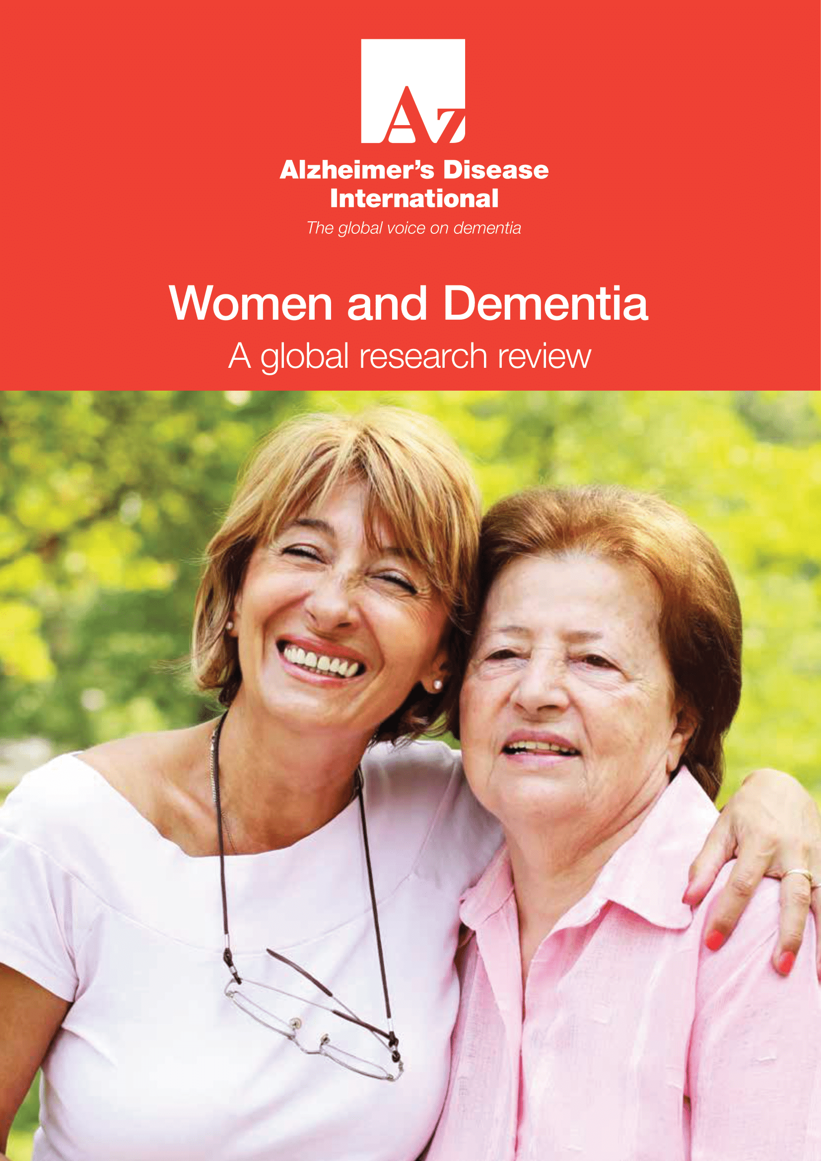 Women and Dementia - Cover